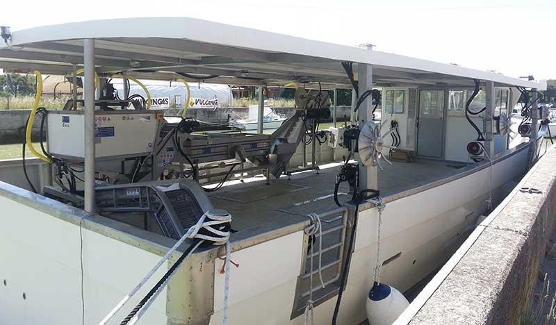barca miticoltura