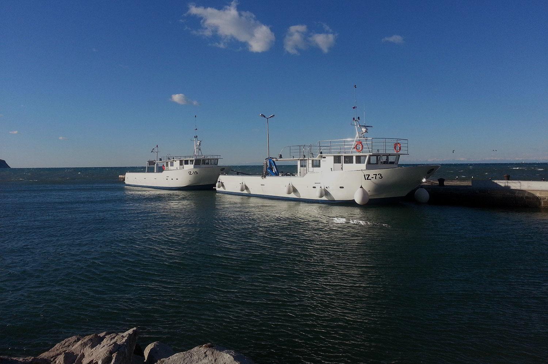 barca per panne supporto in mare