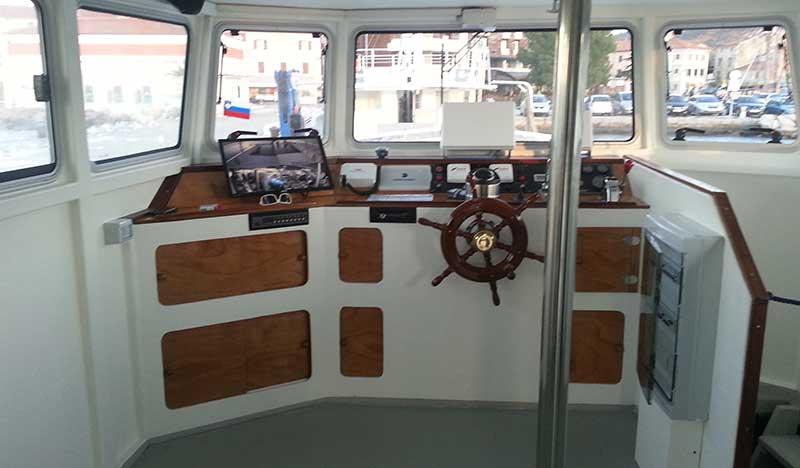 interni barca per panne