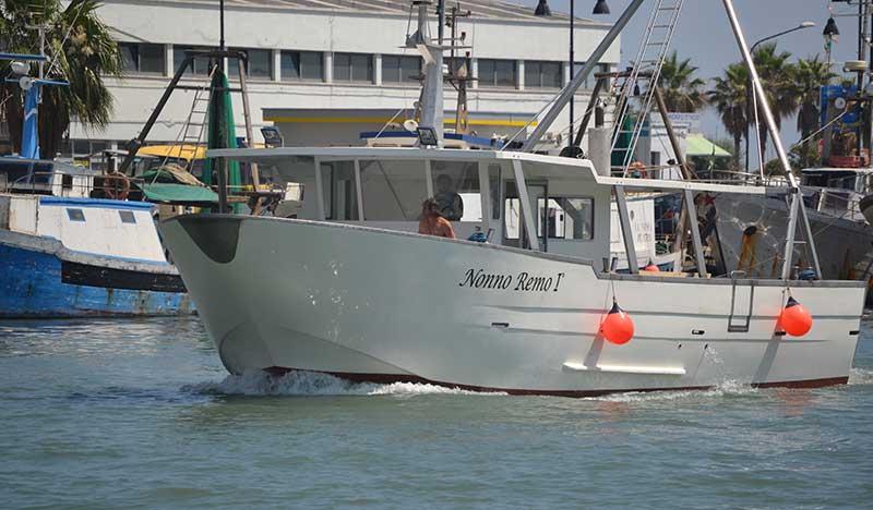 Imbarcazioni destinate alla raccolta di vongole (VONGOLARA)