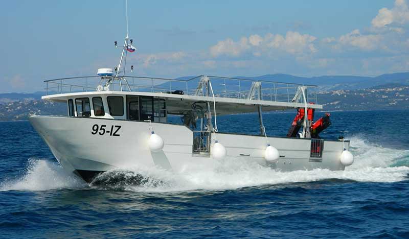 barche da pesca mitili