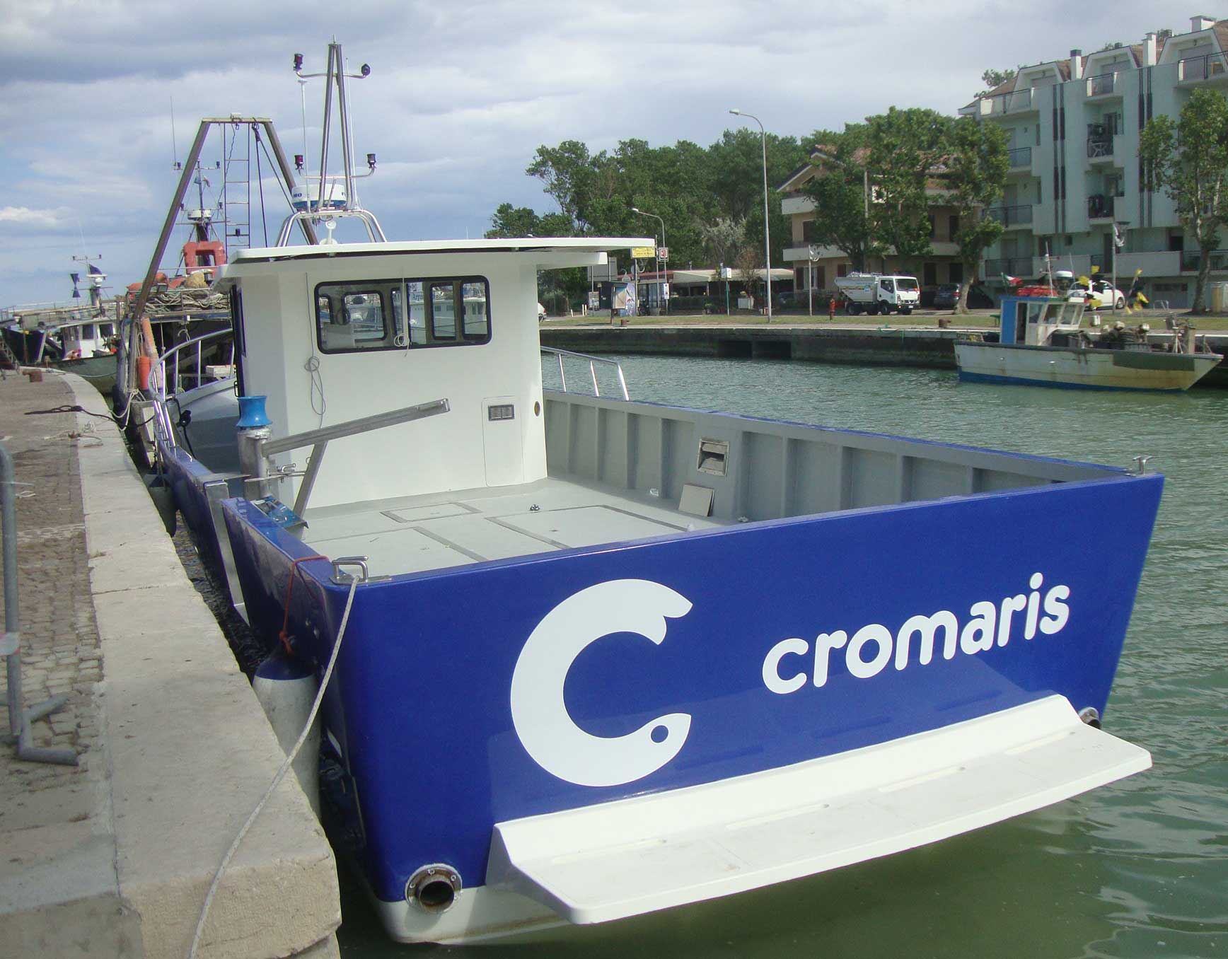 barca da lavoro cromaris